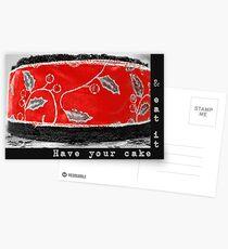 Card (Cake) Postcards