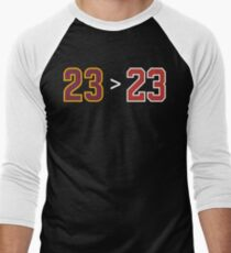 James over Jordan - 23 > 23 T-Shirt