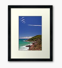 Signs in the Sky Framed Print