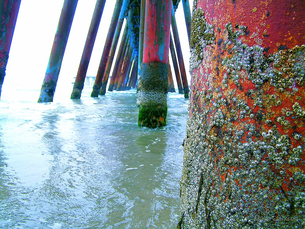 The Pier at Rosarito by Myke Clarkson
