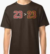 Jordan over James - 23 > 23 Classic T-Shirt