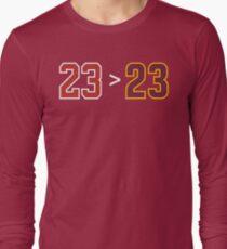 Jordan over James - 23 > 23 T-Shirt