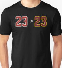 Jordan over James - 23 > 23 T-Shirt