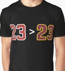 Jordan over James - 23 > 23 Graphic T-Shirt