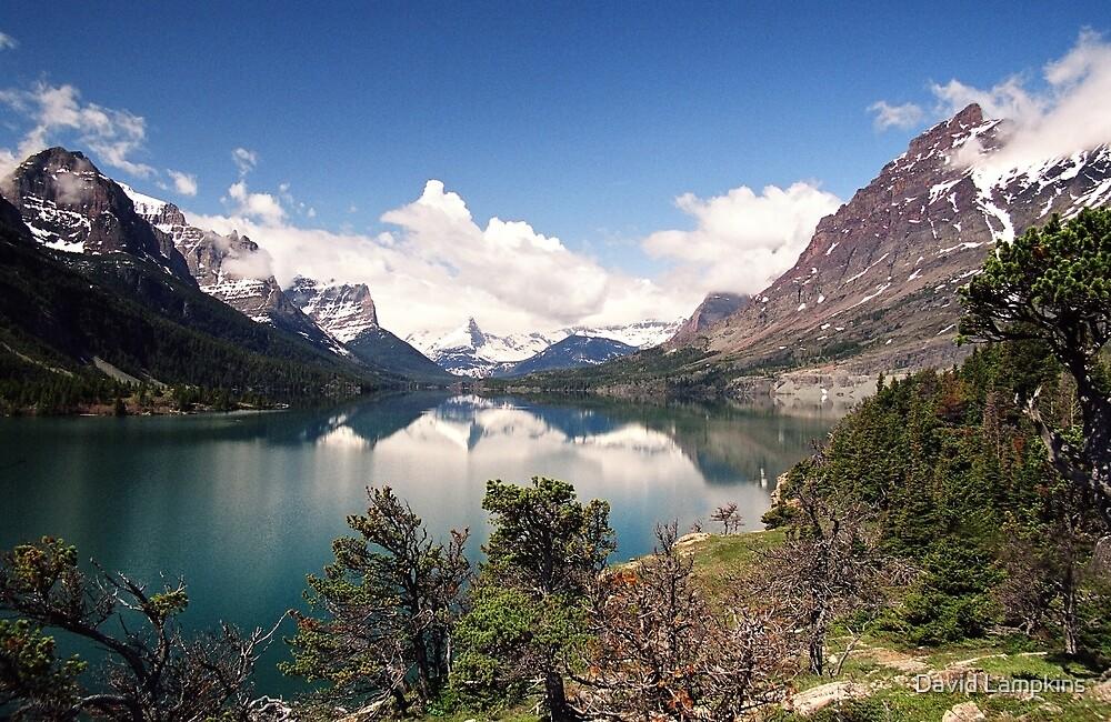 Saint Mary Lake by David Lampkins