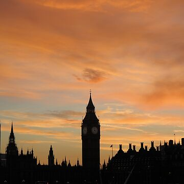 London Sunset by zuluspice