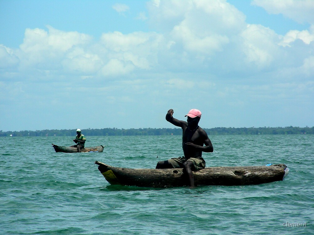 fishing on lake Malawi by clement