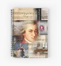 mozart Spiral Notebook