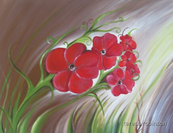 poppys by teresa robinson