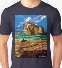 Vintage Eagletail Mountains Wilderness Arizona Unisex T-Shirt