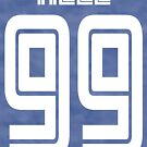 Hell 99 Baseball Jersey by chanbaragogo