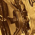 Old Farm Truck Motor by Buckwhite