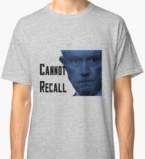 #SessionsHearing - Cannot Recall Classic T-Shirt