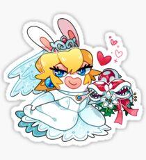 Bunny Bride Sticker