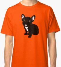 Cute Brindle Frenchie Puppy Classic T-Shirt