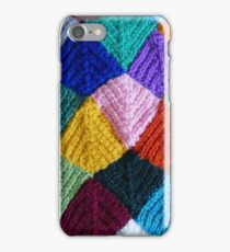 Knitting pattern iPhone Case/Skin