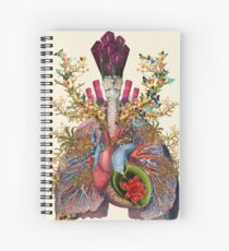 Body System in growth Spiral Notebook
