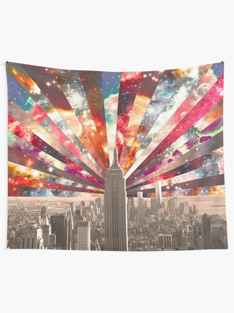 Alternate view of Superstar New York Tapestry