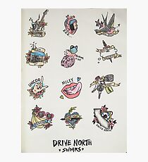 Drive North flash sheet Photographic Print