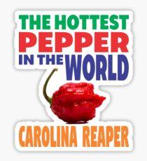 CAROLINA REAPER - THE HOTTEST PEPPER IN THE WORLD Sticker