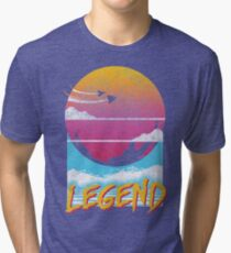 Legend Distressed Design Tri-blend T-Shirt