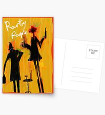 Party People are here Postcards