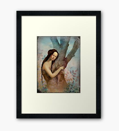Embraced Framed Print
