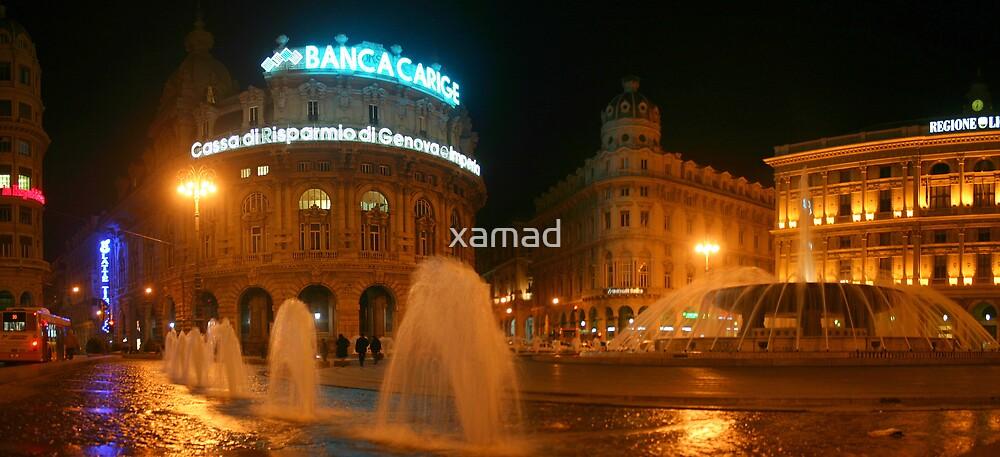 genova, piazza de ferrari by xamad