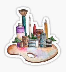 Art Supply City Sticker
