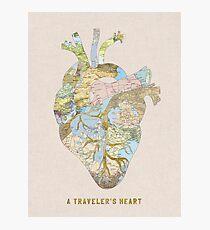 A Traveler's Heart Photographic Print