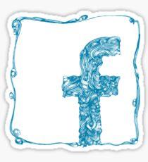 Facebook Renaissance Sticker