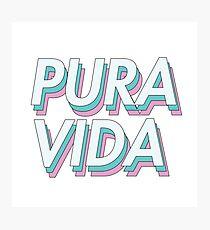 PURA VIDA PASTEL Photographic Print