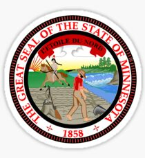minnesota state seal sticker
