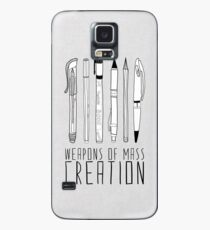 Weapons Of Mass Creation Case/Skin for Samsung Galaxy