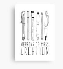 Armes de la création de masse Impression métallique