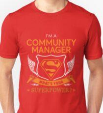 COMMUNITY MANAGER Unisex T-Shirt