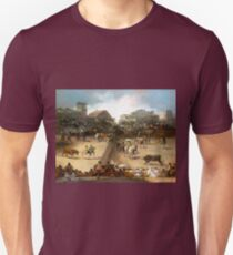 Goya Bullfight in a Divided Ring Unisex T-Shirt