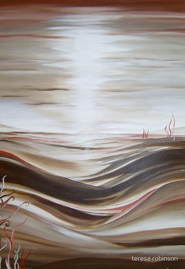 MOONLIT HILLS by teresa robinson