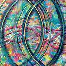 Vesica Piscis - an Inner Power Painting by mellierosetest