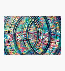 Vesica Piscis - an Inner Power Painting Photographic Print