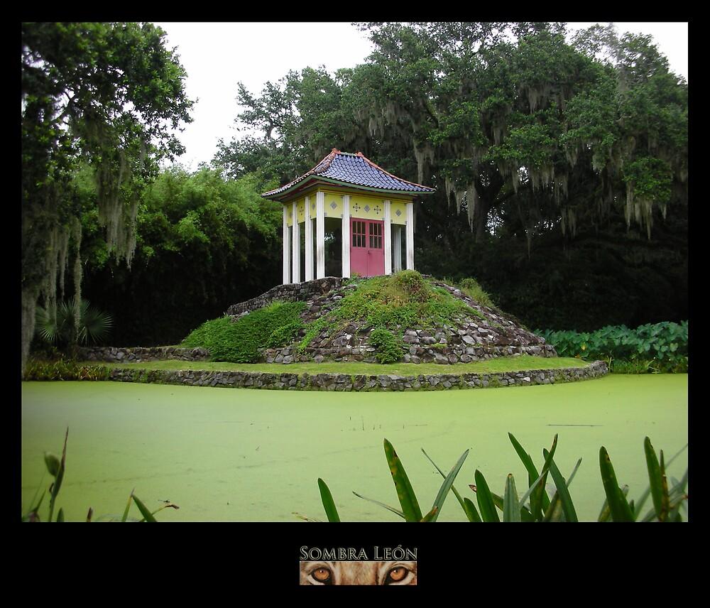 Green Temple by KombatMario