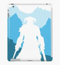 Dragonborn -  Blue iPad Case/Skin