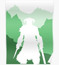 Dragonborn - Green Poster