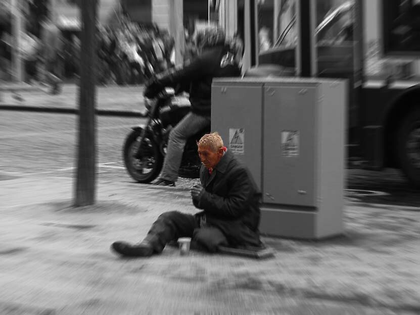mans inhumanity to man ... by SNAPPYDAVE