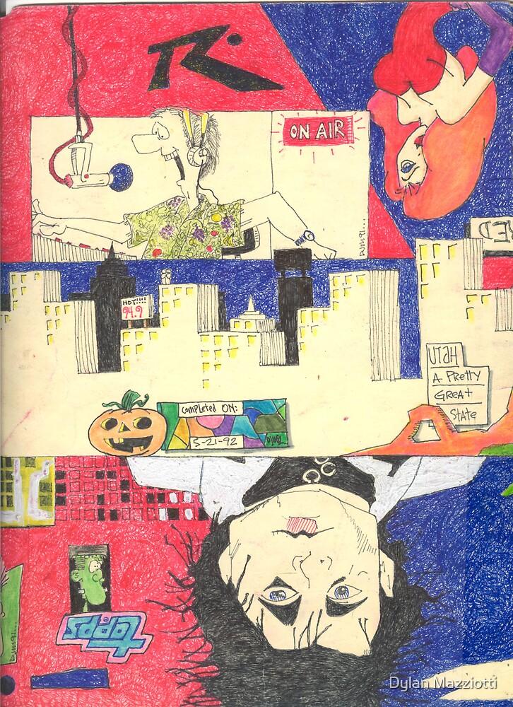 Folder 004 - Back by Dylan Mazziotti