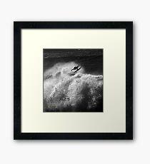 Pipeline Surfer 17 Framed Print