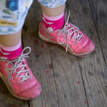 Pink Sneakers by SPOutram