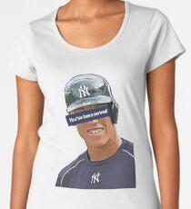 You've Been Served - Aaron Judge  Women's Premium T-Shirt