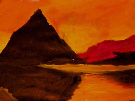 Sunset - Rhian B. by John Brotheridge