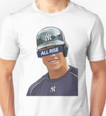 Aaron Judge - All Rise Censor Bar  Unisex T-Shirt